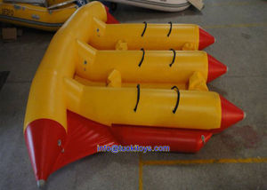 Big Size Yello Inflatable Fly Boat for Play (TK-049) pictures & photos