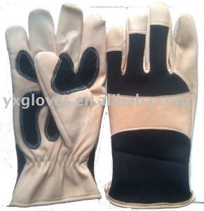 Pig Leather Glove-Hand Glove-Protected Glove-Industrial Glove pictures & photos