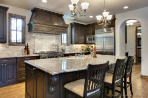 Dark Walnut Kitchen Cabinets (dw64) pictures & photos