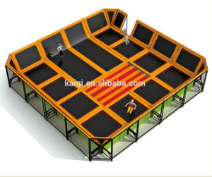 Kaiqi Professional Children′s Indoor Trampoline Playground (KQ50123B) pictures & photos