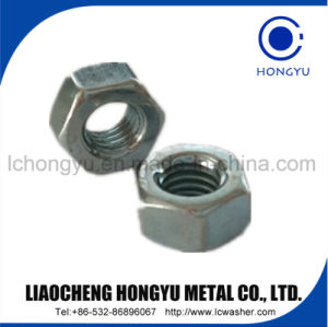 Steel Zinc Hex Nuts of DIN934 pictures & photos