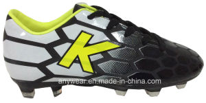 China Boy Sports Football Boots Soccer Shoes (415-6464) pictures & photos