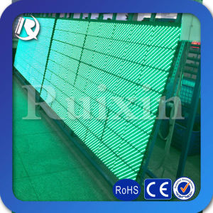 Green Tube Chip Color Outdoor Scrolling Text Display Screen LED Display Panel P10 LED Display Module pictures & photos