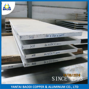 Hot Rolled Aluminum Alloy Plate (7075 T6) pictures & photos