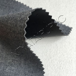 Cotton Backing Technics PU Synthetic Leather for Trendy Furniture Upholstery pictures & photos
