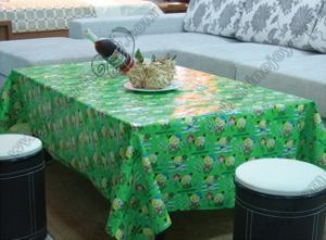 Colour Printed Tablecloth pictures & photos