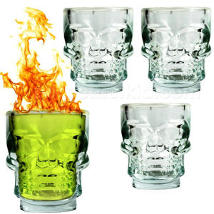 Skull Shaped Shot Glass Cup, 50ml pictures & photos
