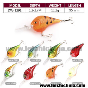8 Color Per Set 11.2g 95mm Deep Water Blank Lures Fishing Artificial Lures pictures & photos