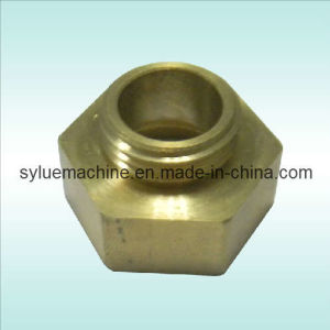 CNC Machining Hex Brass Nut pictures & photos
