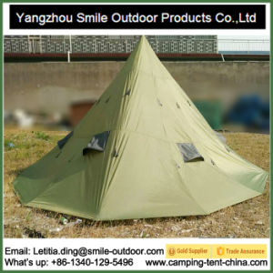 Teepee Luxury Big Canvas Bell Family Outdoor Large Camping Tent pictures & photos