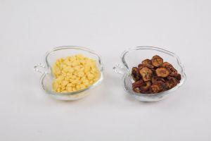 Factory Direct Sale Glass Apple Shape Bowl pictures & photos