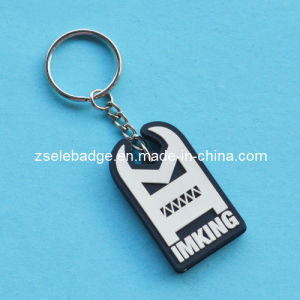 Imking Rubberized Soft PVC Keyring pictures & photos