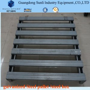 Heavy Standard Size Box Steel Pallet pictures & photos
