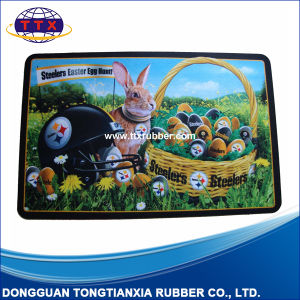 Custom Image Printed Nature Rubber Floor Mat pictures & photos
