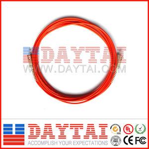 Mm Fiber Optic Patch Cord SC/PC Connector pictures & photos