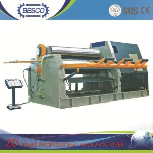Three Rolls Bending Machine & Three Roller Plate Bending Machine & Three Roller Plate Bender pictures & photos