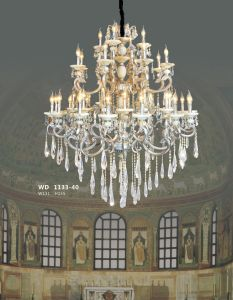 Elegance Crystal Brass Chandelier for Villa, Hotel, Church (WD1133-40) pictures & photos