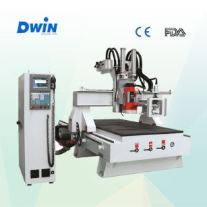Jinan Factory Auto Tool Change Woodworking CNC Router (DW1325) pictures & photos
