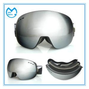 Polarized OTG Coating Frameless Sports Eyewear Snowboard Goggles pictures & photos