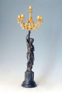 Bronze Candleholder Series Sculpture (CH-024J)