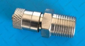 "1/8""-27 NPT Schrader Air Tank Pipe Valve Made of Brass Material pictures & photos"