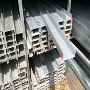 Hot DIP Galvanized Paralle Flange Channel (HDG PFC) pictures & photos