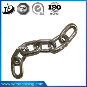 Customized Stainless Steel Forged Chain with Sand Blasting and Galvanized pictures & photos