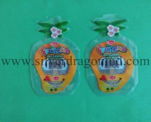 Irregular-Shaped Plastic Bag for Juice with Ziplock pictures & photos