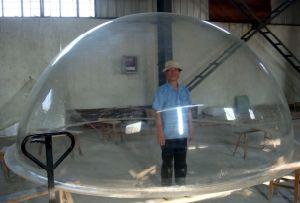 Acrylic Transparent Sphere Lucite Dome