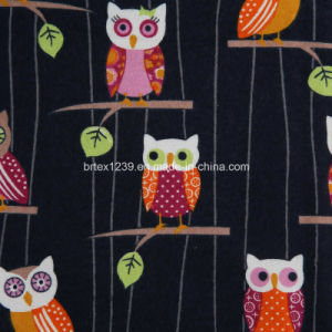 China 100%Cotton Flannel Fabric for Pajamas with Animal Printed ...