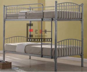 2015 Student Dormitory Metal Frame Steel Frame Bunk Bed pictures & photos