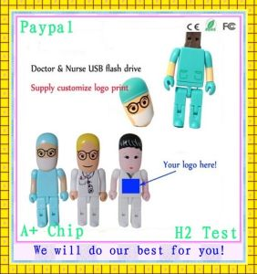 Cute Doctor and Nurse USB Flash Drive (GC-D663) pictures & photos