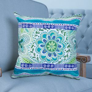 Digital Print Decorative Cushion/Pillow with Geometric Pattern (MX-36F) pictures & photos