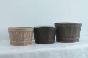 Modern Decorative Light Weight Flower Pot (YF-2012039)
