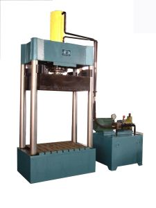 Vertical Hydraulic Press Paper Baler (FYD1000) pictures & photos