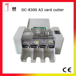 Name Card Cutting Machine A3 Size Business Card Cutter Machine pictures & photos