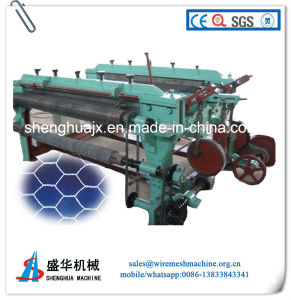 Anping Shenghua Positive and Negative Twist Hexagonal Mesh Machine pictures & photos