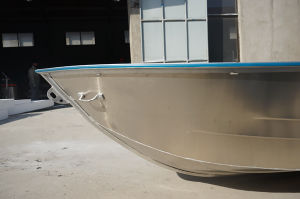 15FT All Welded Aluminum Fishing Boat with Square Gunwale and Rubber Coating pictures & photos