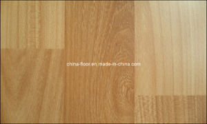 HDF Laminated Natural Wooden Flooring (WOOD TYPE 8) pictures & photos