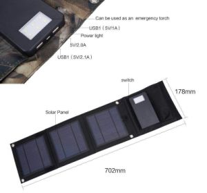 High Quality Solar Charger Mobile Power Bank for 2017 Markets pictures & photos