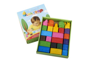 3D Different Shaped Wax Crayon Case for Children/Kids/Baby Drawing pictures & photos