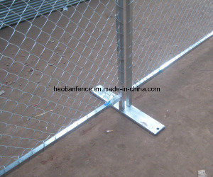 ASTM A392-06 Galvanized Metal Fence Panels pictures & photos