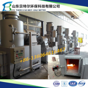 100-150kgs/Cycle Hospital Waste Treatment Incinerator, 3D Video Guide pictures & photos