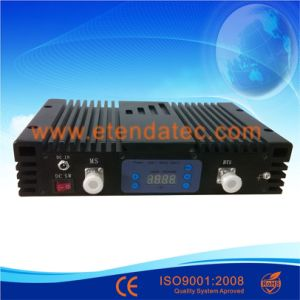 23dBm 75db GSM Dcs WCDMA Tri- Band Signal Repeater with Digital Display pictures & photos