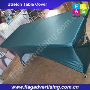Eco Friendly Custom Printed Fitted Table Cloth, Table Throw, Table Cover pictures & photos