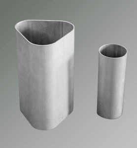 Triangular Aluminum Tube Aluminum Extrusion Profile pictures & photos