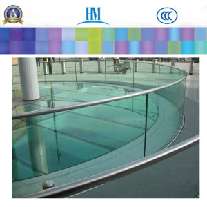 Safety Large Bathroom Decorative Wall/Clear Glass pictures & photos
