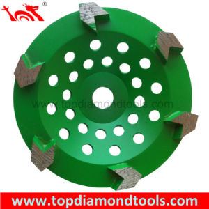 Arrow Shape Diamond Cup Wheels pictures & photos