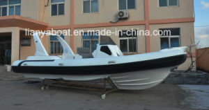 Liya 25ft Console for Inflatable Boats Rigid Inflatable Boats pictures & photos