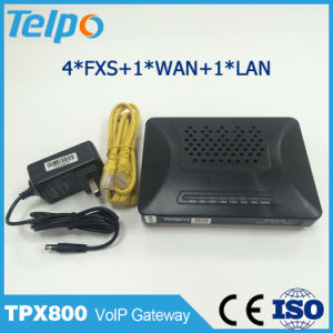 Manufacturer China SIP Residential VoIP Gateway 4port pictures & photos